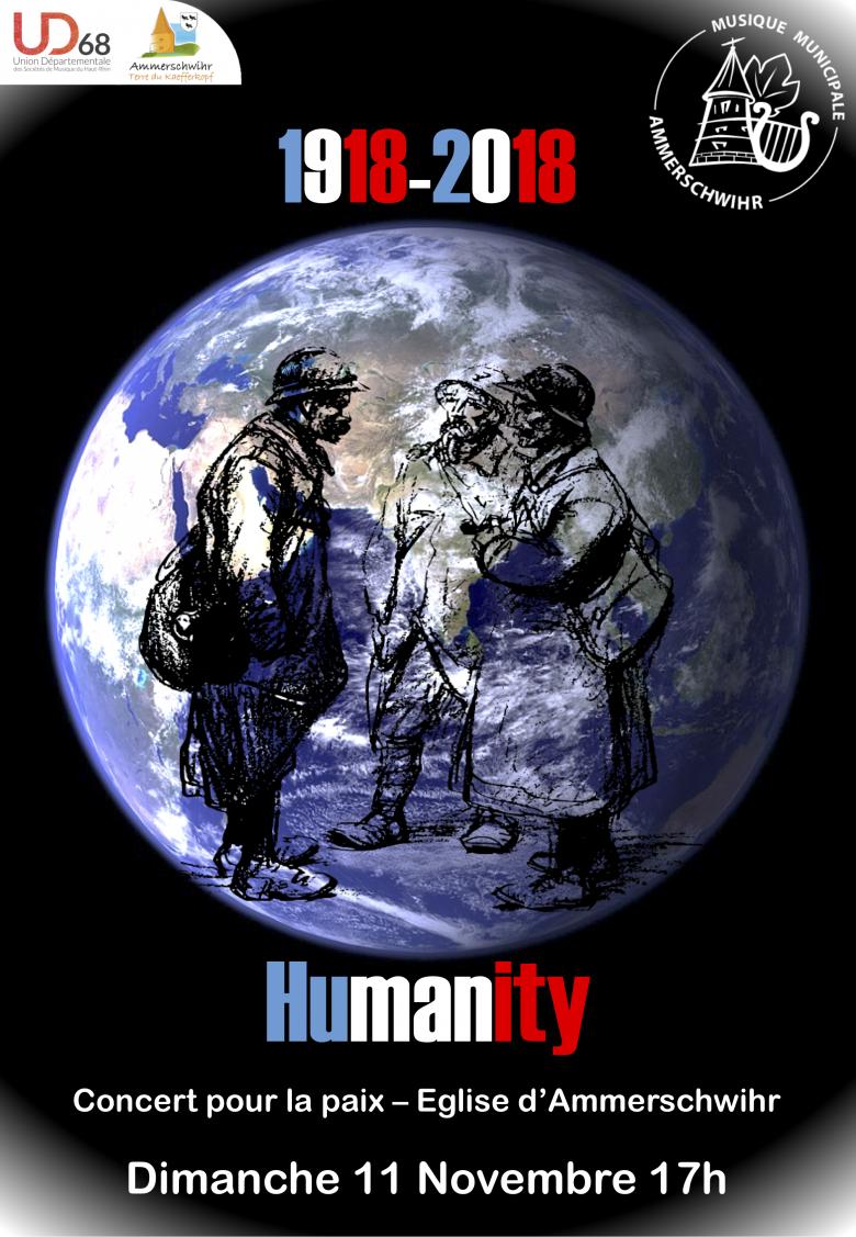 [Centenaire 14-18] Création : Humanity – Nicolas JARRIGE